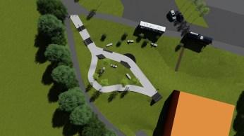 Nouveau Skatepark de Treilliere by ORS Skatepark Conception