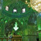 """緑色の宇宙!シーラーズの""""シャーチェラーグ廟""""と、""""もう一つ""""の甥のモスク「エマームザーデイェ・アリー・エブネ・ハムゼ」が美しい!@イラン【海外観光情報】"""