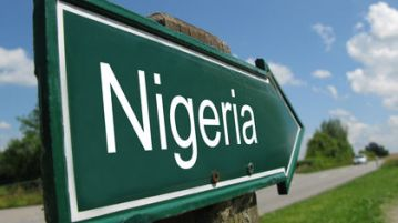 Nigeria sign post
