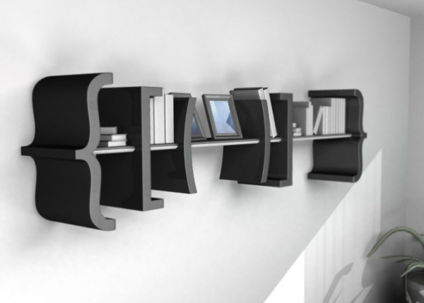 Equation bookshelf idea