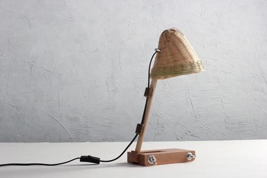 A study desk lamp