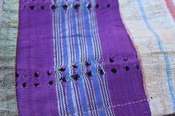 Aso oke knitted fabric