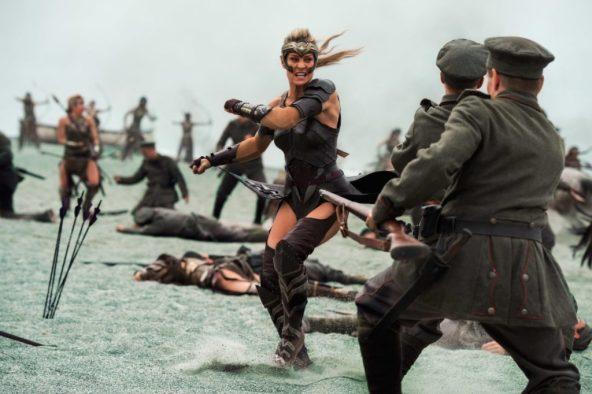 fight scene wonder woman