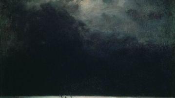 the black sea at night