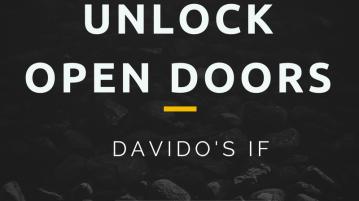 "Unlock Open Doors: Davido's ""IF"" by Samsudeen Alabi"