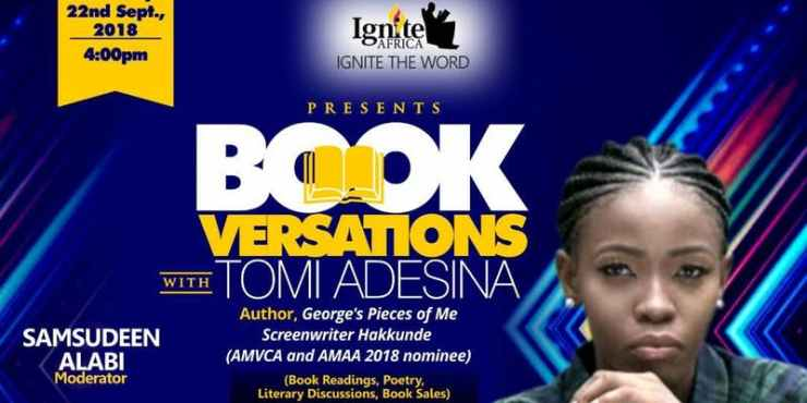 Bookversations with Tomi Adesina nantygreens