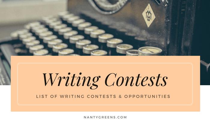 writing competition nantygreens