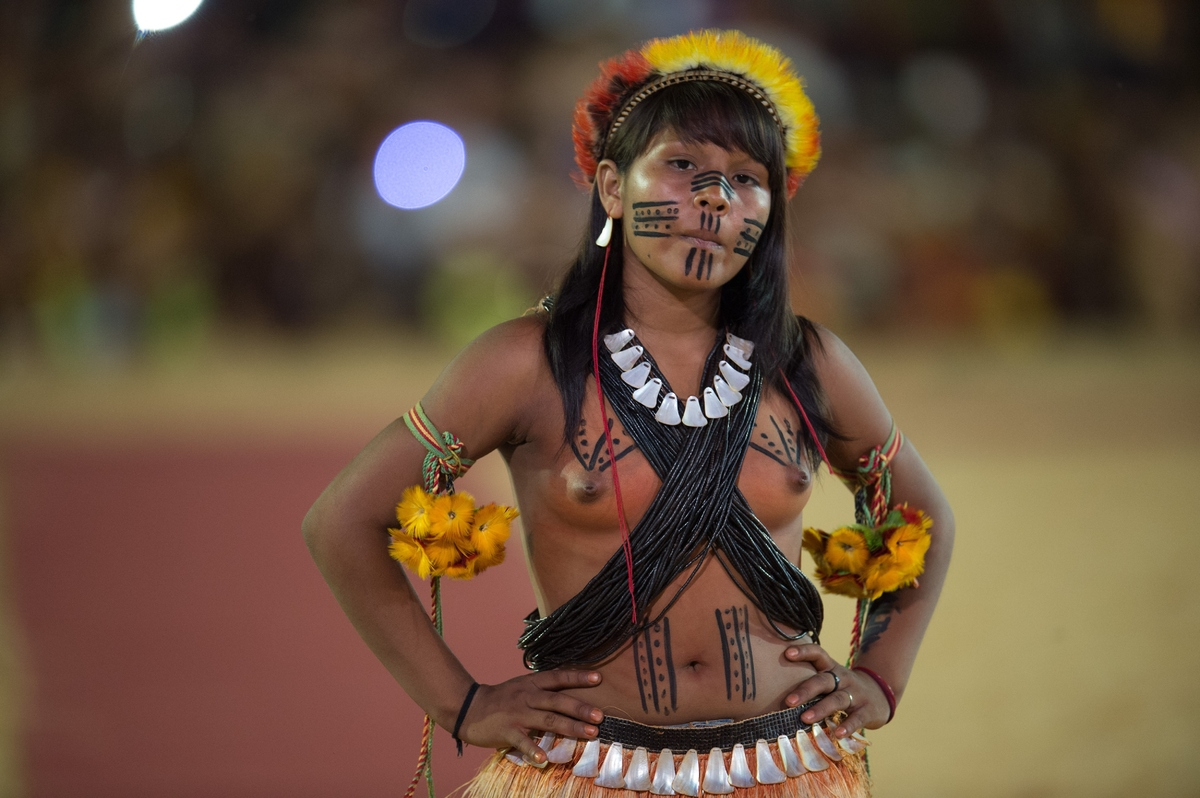 Секс в племенах индейцев видео то