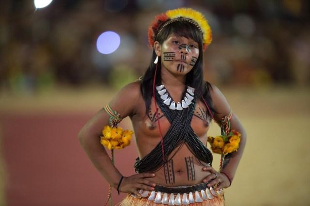 Праздник красоты индейской женщины
