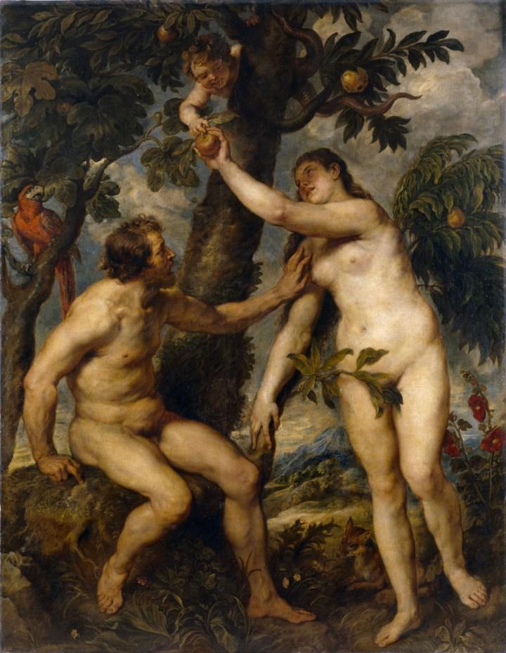 Rubens: Adam och Eva.