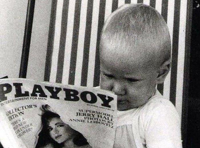 20 умилительных детских фото из прошлого