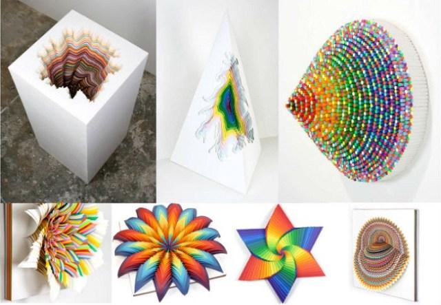 Объёмные скульптуры из бумаги художницы Джейн Старк