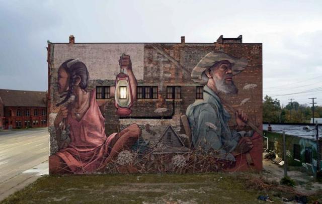 Магический реализм в граффити Пэта Перри