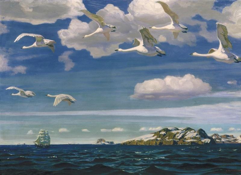 Символика лебедей в искусстве