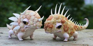 Маленькие керамические, очень забавные существа