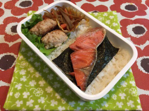鮭弁当 のり弁当