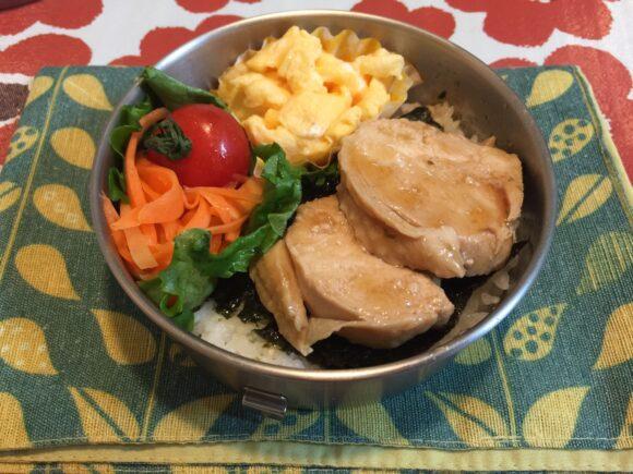 鶏チャーシュー弁当