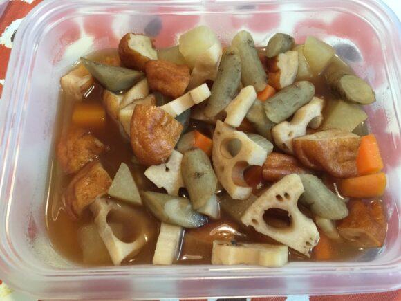 根菜とさつま揚げの煮もの