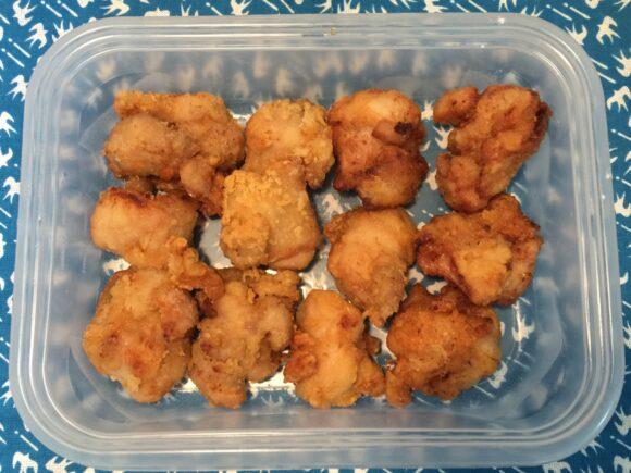 鶏の唐揚げ 3度揚げ