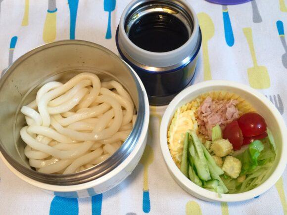 サラダうどん弁当 カフェ丼