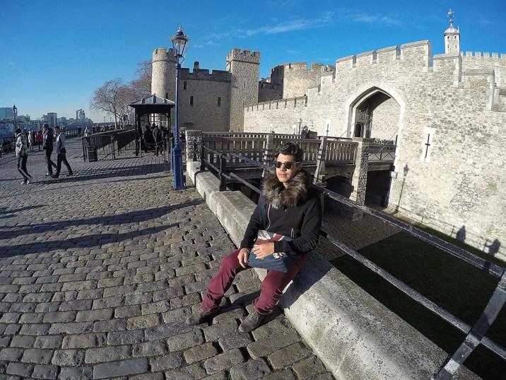 De boa, na Tower of London