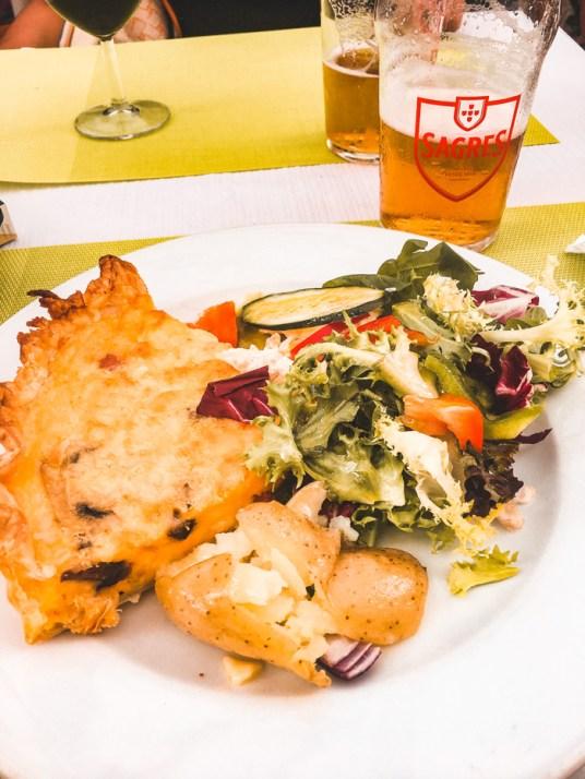 Almoço delícia no centro histórico de Cascais