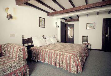 Quarto do Hotel Rainha Princesa Santa Isabel