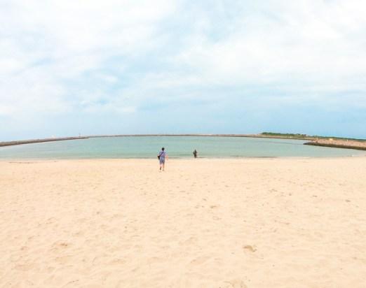 Praia da Barra em Aveiro