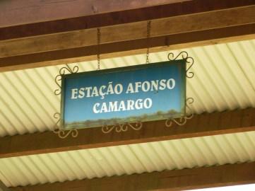 Estação Afonso Camargo, Guarapuava, Paraná Foto: Ricardo Rech
