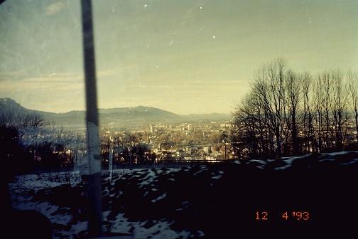 ザルツブルク市街遠望