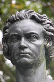 ベートーヴェン銅像頭部