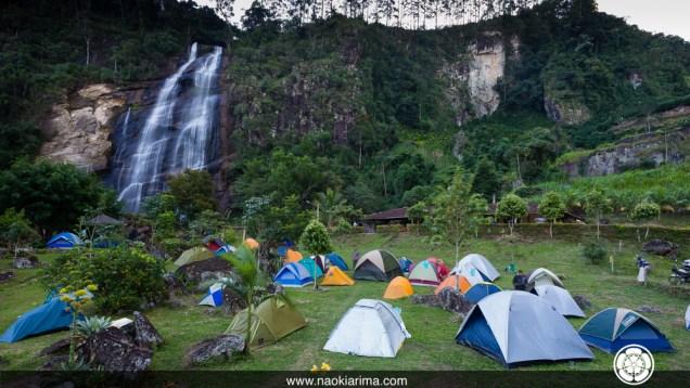 Camping Furlan durante o encontro de 2013.
