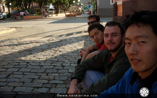Naoki, Leo, Chico e Andres. SP. 2006.