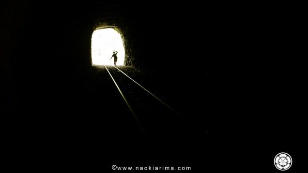 Luz no fim do túnel. ES