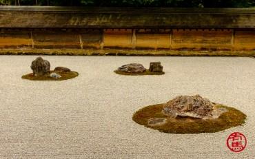 Jardim das 15 pedras.