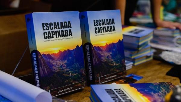 """Lançamento do livro """"Escalada Capixaba"""