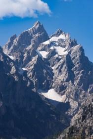 As montanhas de Grand Teton