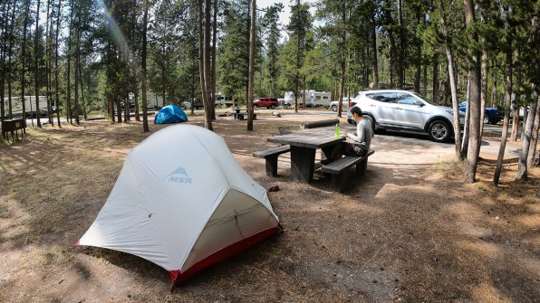 Madson Campground.