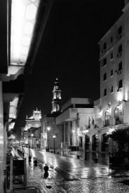 Noite na Calle Caseros.