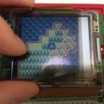 ビネガー気味のゲームボーイカラーの液晶を直してみた