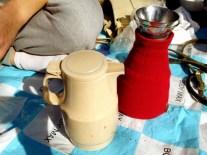 Hot coffee in Yoyogi Park