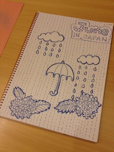 "My ""Rainy Season"" theme drawing"