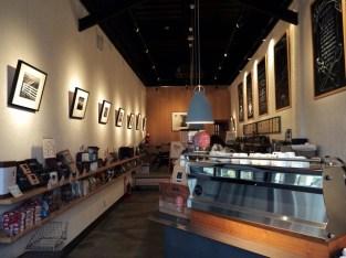Inside Voilá Coffee
