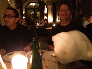 Cotton candy for cofee