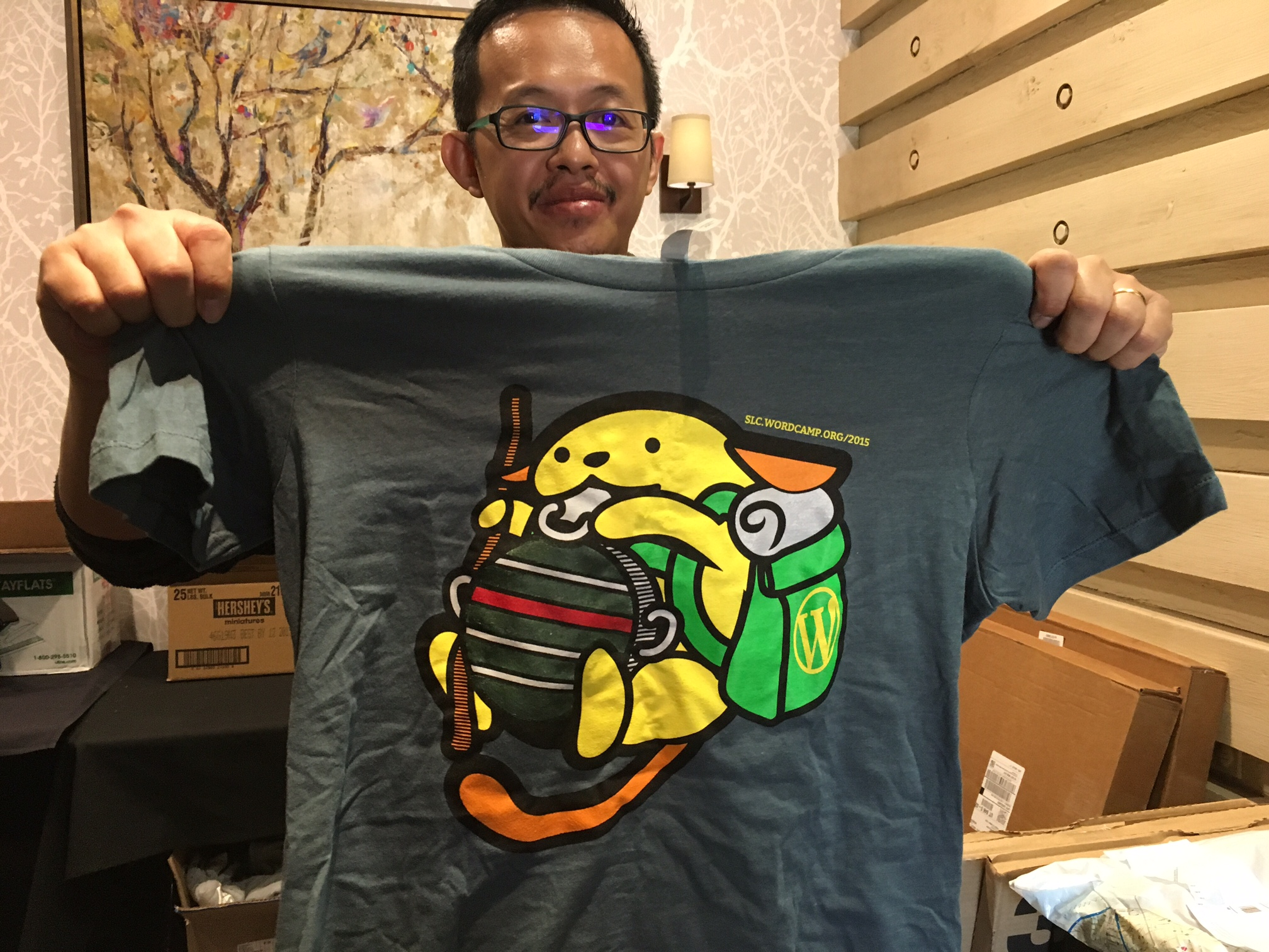 WordCamp SLC Wapuu