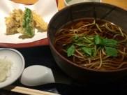Soba + tempura