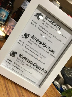 Custom cocktails