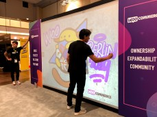 WooCommerce booth at WCEU
