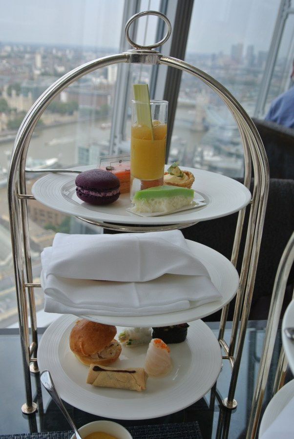 South East Asian afternoon tea service