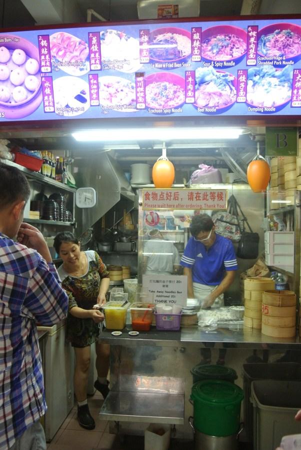 Zhong Guo La Mian - the specialty here is dumplings.